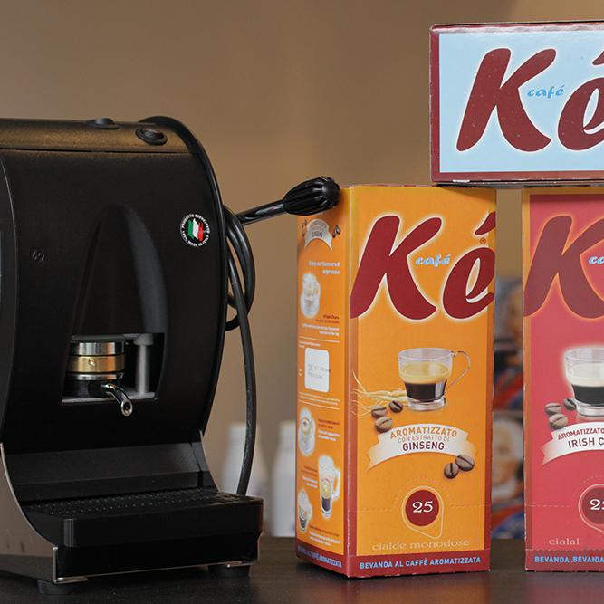 Il Gusto del Caffè: vendita di caffè in cialde e in capsule.